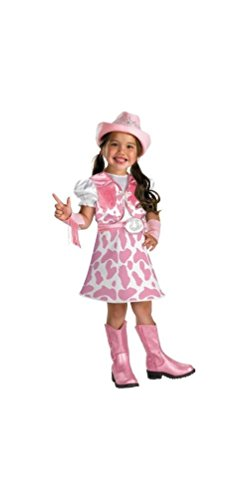 Wild West Cutie Toddler/Child Costume Size Small (4-6X) (Cowgirl Costume For Toddler)