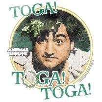 Toga! Toga! Toga! -- Animal House Adult T-Shirt, Large