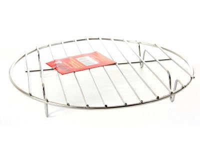 Stainless Steel 12 Inches Steamer Rack, Case of 24 by DollarItemDirect