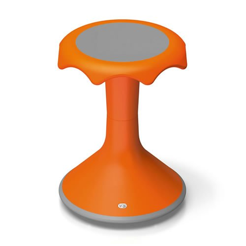 Hokki Stool - 18'' Orange by VS America