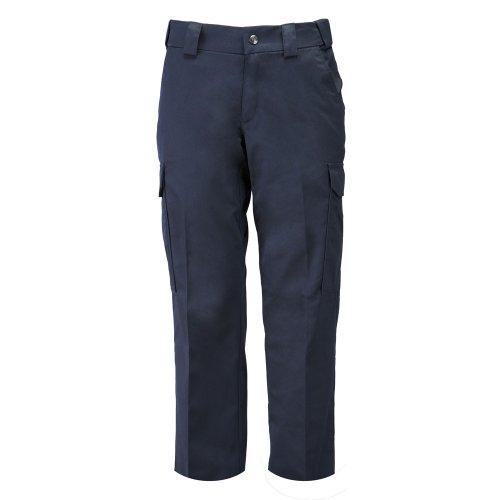 5.11 Women's Twill PDU Class-B Tactical Pants, Style 64306, Midnight Navy, 4