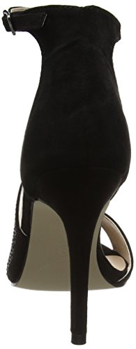 Dorothy 19959410, Sandalias de Tacón Mujer Negro (Black)