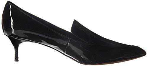 Toe Black Loafer Kenneth Shea Pointy Womens Cole York Pump Heeled Kitten New 14aqg