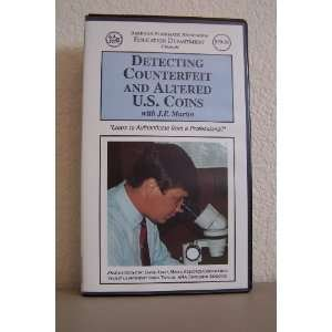 Detecting Counterfeit and Altered U.S. Coins (ANA Presentation) [VHS]