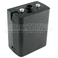 2-Way NiMH 'No Memory' Black Replacement Battery for Bendix-King LPH, LPX two way radios. Replaces LAA1093