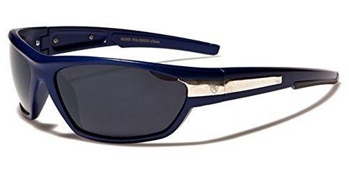 ideal INCLUIDO UV400 Ahumada Envolventes sol COMPLETO KHAN deportes Rectangular Lente o Azul Protección beachhutsunglasses para Hombre de Conducción Gafas Bolsa GRATIS q1qYFT7
