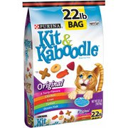 Kit and Kaboodle Original Cat Food, 22 lbs by Kit