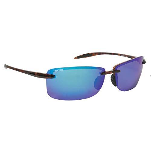 Calcutta (BC1BMTORT) Biscayne Sunglasses Tortoise Frame/Blue (Tortoise Calcutta)