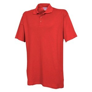 L Unisex Knit Shirt Metro Red