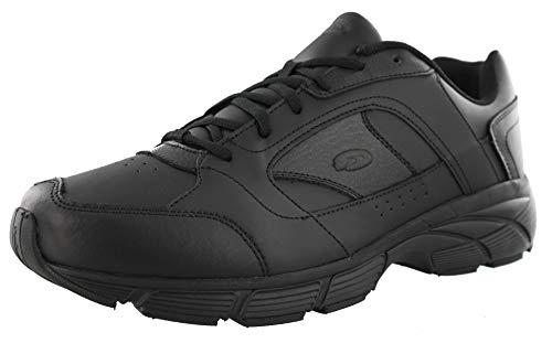 (Dr. Scholl's Men's Warum Athletic Wide Width Walking Shoes (11.5 2E US, Black))