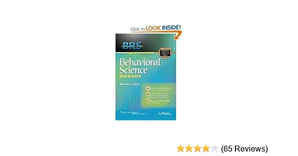 New pdf release: brs behavioral science (board review series) (6th.