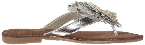 Bout Argent Mustang 3125 Sandales Silber Femme Ouvert 801 21 21 4n46Iw0fF