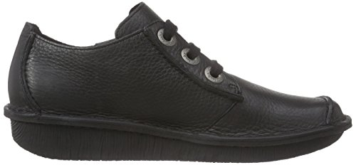 black Derby Noir Femme Funny Clarks Dream Leather XWncfqcEP