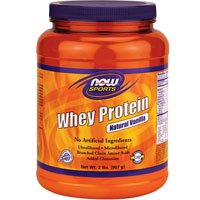 Now Foods Whey Protein Natural Vanilla - 2 lbs. 5 Pack