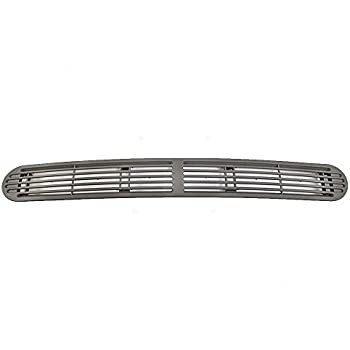 Dash Defrost Vent Cover Grille Panel Gray Pewter Replacement for Chevrolet  S10 GMC Sonoma Oldsmobile SUV Pickup Truck 15046436