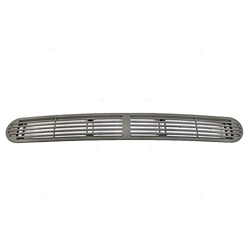 - Dash Defrost Vent Cover Grille Panel Gray Pewter Replacement for Chevrolet S10 GMC Sonoma Oldsmobile SUV Pickup Truck 15046436