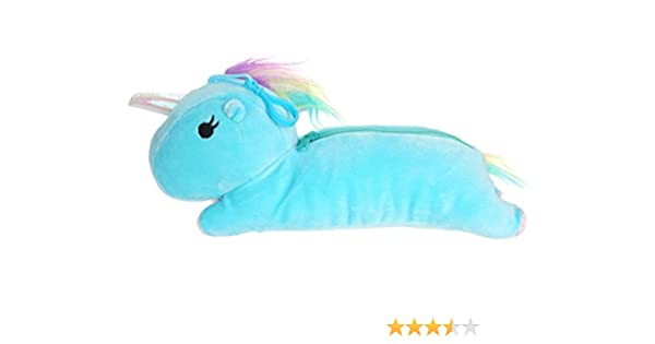 CoolChange Estuche de Peluche de Unicornio, Azul: Amazon.es: Juguetes y juegos