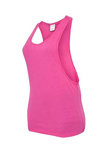 Ladies Loose Tank fuchsia S