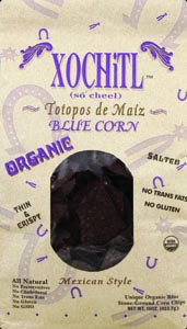Organic Blue Tortilla Chips (Pack of 9) by Xochitl (Image #1)