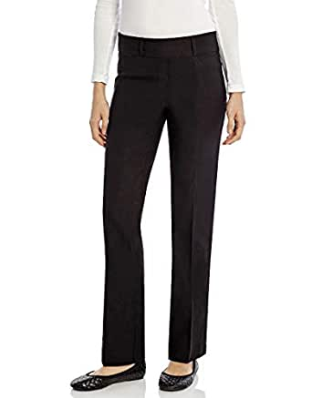 5843810611d18 Image Unavailable. Image not available for. Color  Leveret Womens Pants  Stretchable Boot Cut Comfort Office Pants Pull ...