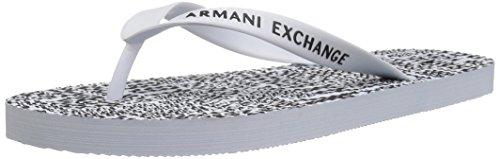 Da Exchange Tipografia Grafica Uomo flop Flip Bianca Armani Stampata zqqHgXw