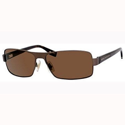 Hugo Boss Unisex 0316/S Polarized Sunglasses Semi Matte Brown-Havana w/Dark Brown - Costco Prescription Polarized Sunglasses