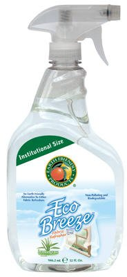 Earth Friendly Products PL983732 32-oz. Eco Breeze Lemongrass Air & Fabric Refreshener