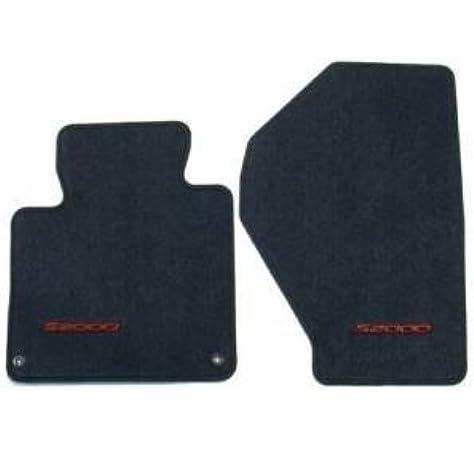 Amazon Com Honda Genuine 83600 S2a A01za Floor Mat Set Graphite Black Automotive