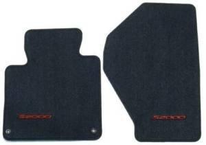 Honda Genuine 83600-S2A-A01ZA Floor Mat Set, Graphite Black