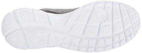 Reebok Mænds Speedlux 3,0 Sneaker Legering / Skarp Grå / Lyse Lava / Hvid / Tin