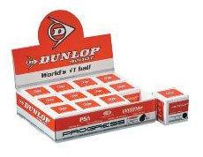 DUNLOP Progress - Recreational (One dozen) Squash Balls