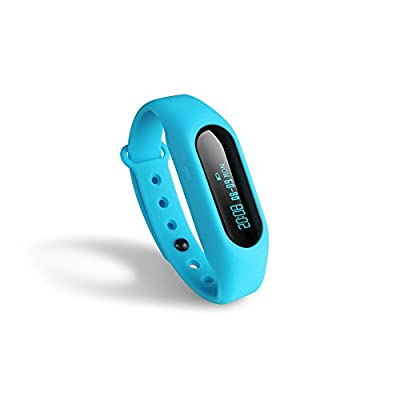 Fitness Tracker Toprime® Bluetooth 4.0 Pedometer Waterproof Sleep Monitor with Incoming Call Remind for the Young Gens
