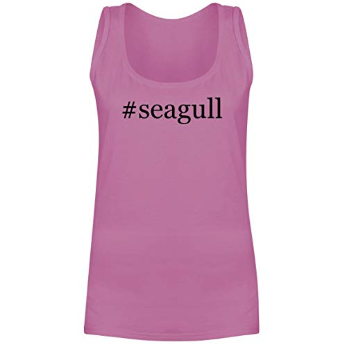 The Town Butler #Seagull - A Soft & Comfortable Hashtag Women's Tank Top, Pink, X-Large