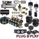 FBS-PON-02-KIT3 Pontiac Plug and Play FBSS Complete Air Suspension Kits