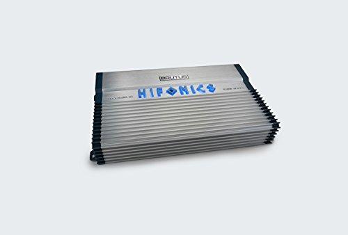 (Hifonics BXX1600.1D Brutus Class D 1600W RMS 1 Ohm Mono Car Subwoofer Amplifier)