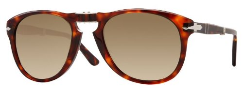 Persol PO0714 24/51 Havana Sunglasses with Brown Faded Lenses 52mm 714 24/51 - Po0714 Persol