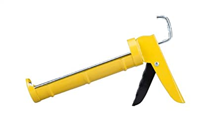 Dripless C100 Consumer Grade Smooth Round Rod Cradle Frame Caulking Gun, 10 oz. Cartridge Capacity, 5:1 Thrust Ratio