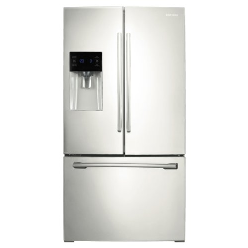 Samsung RF263BEAEWW 25.6 Cu. Ft. White French Door Refrigera