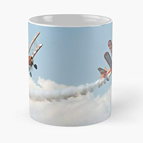 Breitling Wingwalkers Winwalker Wing Walkers - 11 Oz White -coffee Mug- Unique Birthday Gift-the Best Gift For Holidays. ()