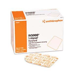 (Tegaderm Transparent Film Dressing First Aid Style 2-3/8