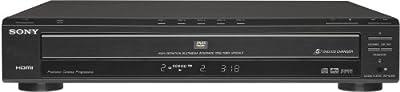 Sony DVP-NC85H/B HDMI/CD Progressive Scan 5-Disc DVD Changer, Black