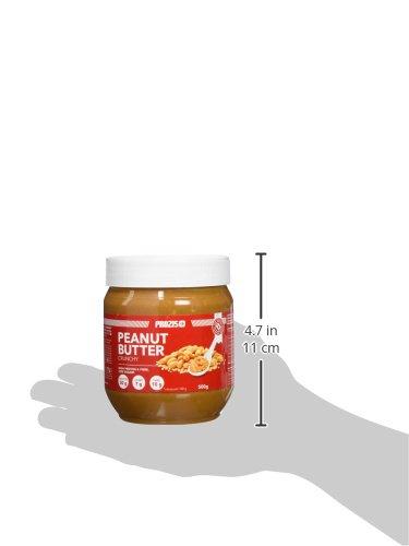 Prozis Foods Crema de Cacahuete, Sabor Crujiente - 500 gramos - [paquete de 6]: Amazon.es: Salud y cuidado personal