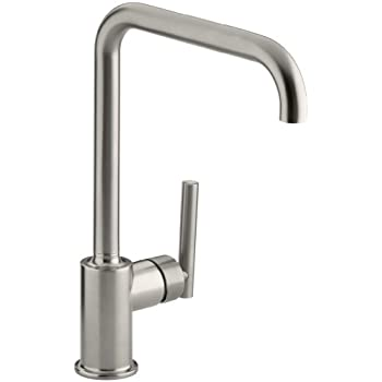 Kohler K 7505 Vs Purist Primary Pullout Kitchen Faucet Vibrant Stainless Touch On Kitchen