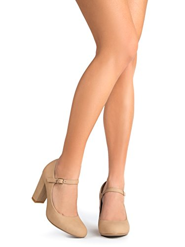 Mary Toe Pumps Block Jane Adams Nbpu Cute Heels Round Natural Comfortable Chunky J Skippy qzfYwSEz