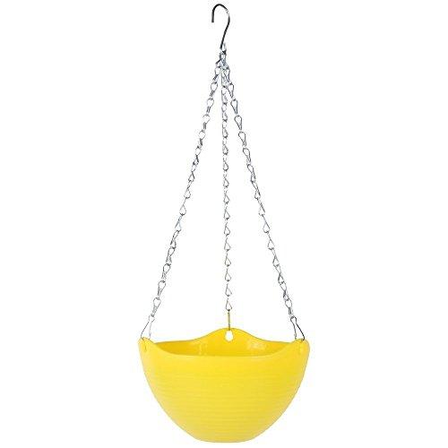 Kingbuy Hanging Outdoor Planter 1pcs yellow product image