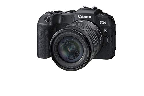 Canon EOS RP Full-frame Mirrorless Interchangeable Lens Camera + RF24-105mm Lens F4-7.1 IS STM Lens Kit– Compact and…