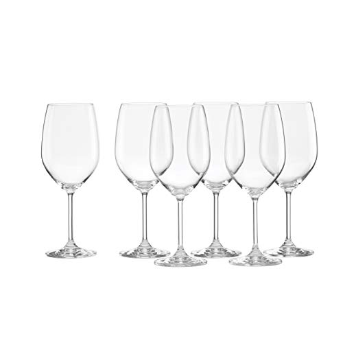 Wine White European Glass - Lenox Tuscany Classics White Wine Glasses, Buy 4, Get 6