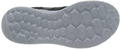 Adidas Cloud Foam Sprint scarpe da ginnastica, talla unica, Nero (Negro (Negbas / Grpudg / Púrtri)), 43 1/3 EU