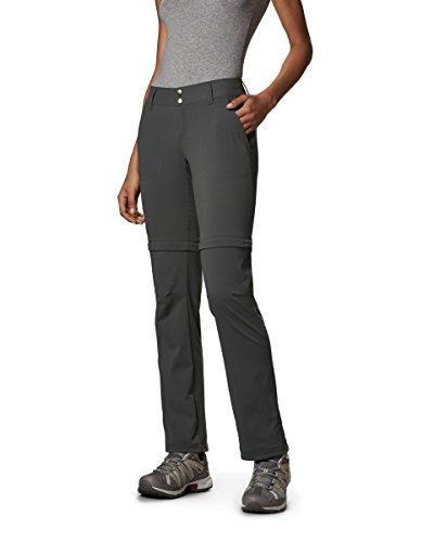 Sportswear Work Columbia Pants (Columbia Sportswear Women's Saturday Trail II Convertible Pant, Grill, 18W/Short)
