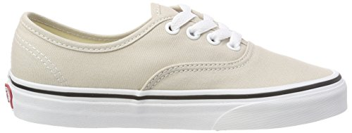 Adulte White Authentic Vans Qa3 Baskets Lining silver Beige Mixte true tP81xqwB8
